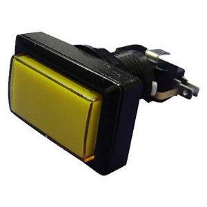 Kit 10 Botão Retangular Fliperama Jukebox Com Micro Aegir