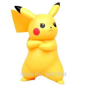 Pokemon Go Importado Boneco Pikachu Grande 18cm Pvc