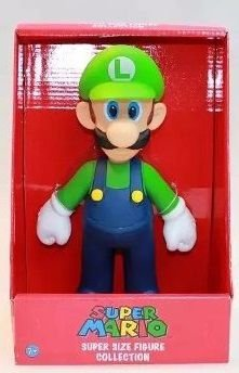 Bonecos Grandes-super Mario Collection- Luigi 25 Cm