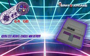 Mini Snes Super Nintendo Console Raspberry Pi 8 Mil Jogos
