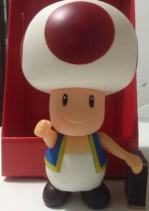 Bonecos Grandes Super Mario Collection Toad 20 Cm