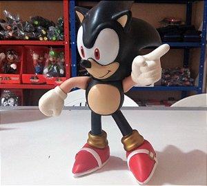 Bonecos Grandes 25cm Sonic Black Collection Lançamento 2018