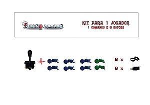 Kit Botões de Nylon para 1 jogador