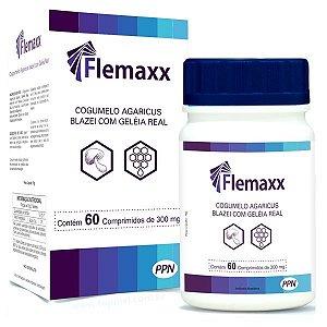 Flemaxx - Cogumelo Agaricus Blazei com Geléia Real - 60 Comprimidos