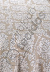 Toalha de Mesa Redonda para Buffet em Tecido Jacquard Fio Tinto (várias cores, tamanhos e desenhos)