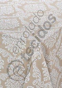 Toalha de Mesa em Jacquard Fio Tinto Quadrada (várias cores, tamanhos e desenhos)
