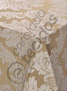 Toalha de Mesa em Jacquard Luxo Quadrada (várias cores e tamanhos)