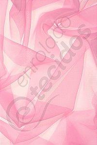 Tecido Voil Rosa Bebê 3,0m de Largura