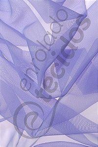 Tecido Voil Lilás 3,0m de Largura