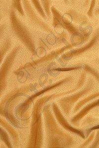 Tecido Cetim Dourado Liso 3,0m de Largura