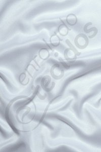 Tecido Cetim Branco Liso 3,0m de Largura