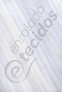 Renda Listrada Branco 3,0m de Largura