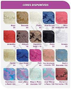 Manta para Sofá em Tecido Jacquard (diversas cores) 1,80m X 1,40m
