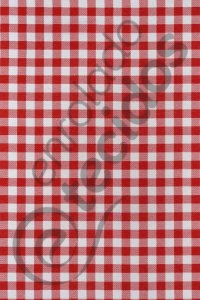 Tecido Gorgurinho Xadrez Vermelho e Branco 1,50m de Largura