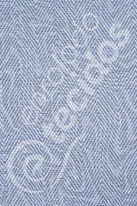 Tecido Jacquard Estampado Liso Azul Bebê 1,40m de Largura