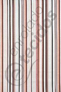 Tecido Jacquard Estampado Listrado Rosa 1,40m de Largura