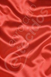 Tecido Cetim Vermelho 1,50m de Largura