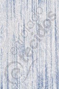 Tecido Jacquard Estampado Liso Branco e Azul 1,40m de Largura