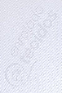 Tecido Sarja Peletizada Liso Branco 1,6m de Largura
