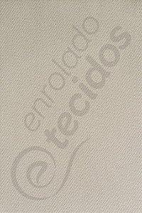 Tecido Sarja Peletizada Liso Bege Marfim 1,6m de Largura