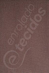 Tecido Sarja Peletizada Liso Marrom 1,6m de Largura