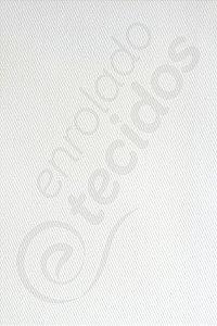 Tecido Sarja Peletizada Liso Branco Gelo (Off-White) 1,6m de Largura