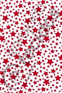 Tecido Gorgurinho Estrelinha Vermelho e Branco 1,50m de Largura