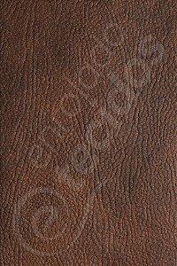 Tecido Revestimento Sintético Corano® Marrom Ocre 1,4m de Largura
