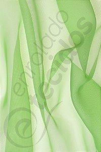 Tecido Voil Verde Maçã 3,0m de Largura