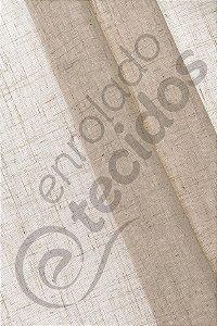 Tecido Linho Flame Natural Look Rajado 2,8m de Largura