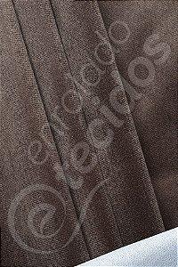 Tecido Suede Veludo Liso Marrom 1,45m de Largura
