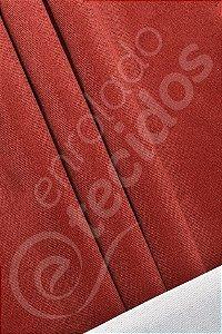 Tecido Veludo Liso Vermelho Bordô 1,45m de Largura