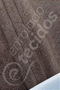 Tecido Suede Animale Marrom Chocolate 1,40m de Largura