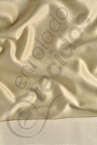 Tecido Jacquard Bege Liso 2,80m de Largura