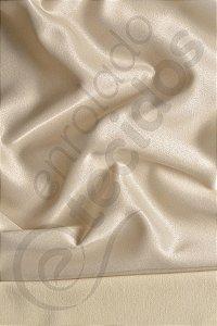 Tecido Jacquard Bege Marfim Liso 2,80m de Largura