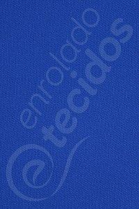 Tecido Sarja Peletizada Liso Azul Royal 1,6m de Largura