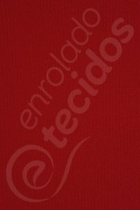 Tecido Sarja Peletizada Liso Vermelho Bordô 1,6m de Largura