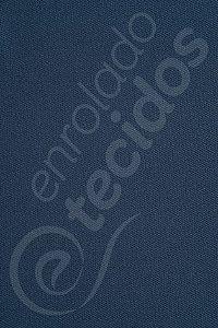 Tecido Sarja Peletizada Liso Azul Petróleo 1,6m de Largura