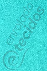 Tecido Revestimento Sintético Corano® Azul Tiffany 1,4m de Largura