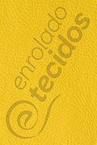 Tecido Revestimento Sintético Corano® Amarelo Ouro 1,4m de Largura