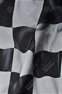 Tecido Party Decor Bandeira Fórmula 1 1,50m de Largura