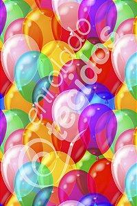 Tecido Party Decor Balões 1,50m de Largura