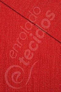 Tecido Brugges Vermelho 3,00m de Largura