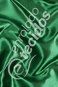 Tecido Cetim Verde Bandeira 1,50m de Largura