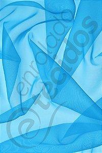 Tecido Voil Azul Frozen 3,0m de Largura