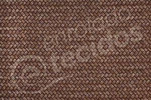 Tecido Jacquard Estampado Palha Entrelaçada Marrom (desenho sentido largura) 2,80m de Largura