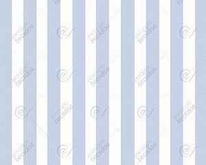 Tecido Jacquard Fio Tinto Listrado Azul Bebê (desenho sentido largura) 2,80m de Largura