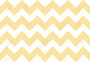 Tecido Jacquard Fio Tinto Chevron Amarelo (desenho sentido largura) 2,80m de Largura