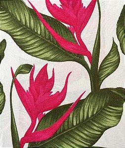 Tecido Jacquard Floral 1m X 1,40m