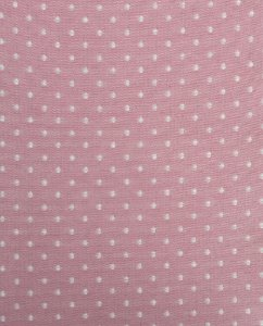 Tecido Jacquard Fio Tinto Poá Rosa 1m X 2,80m
